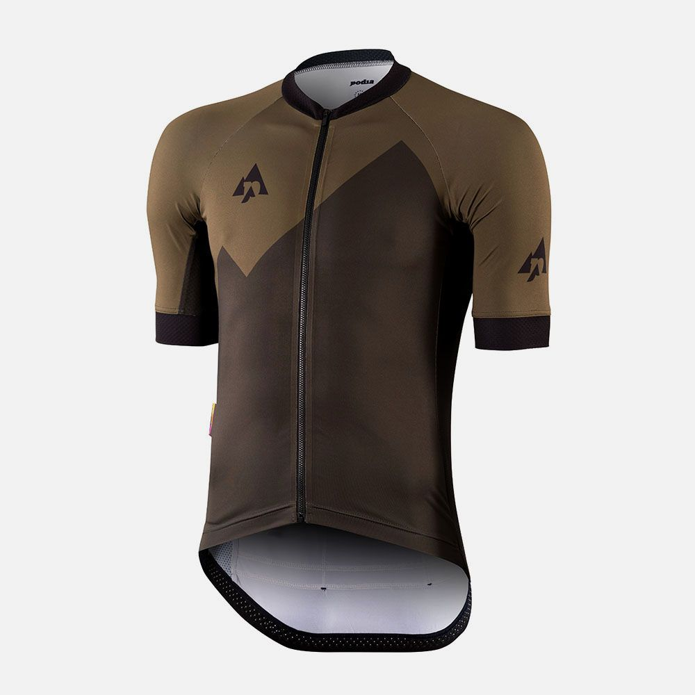 Olive Mountain Cycling Outfit Cycling Jersey Design Cycling