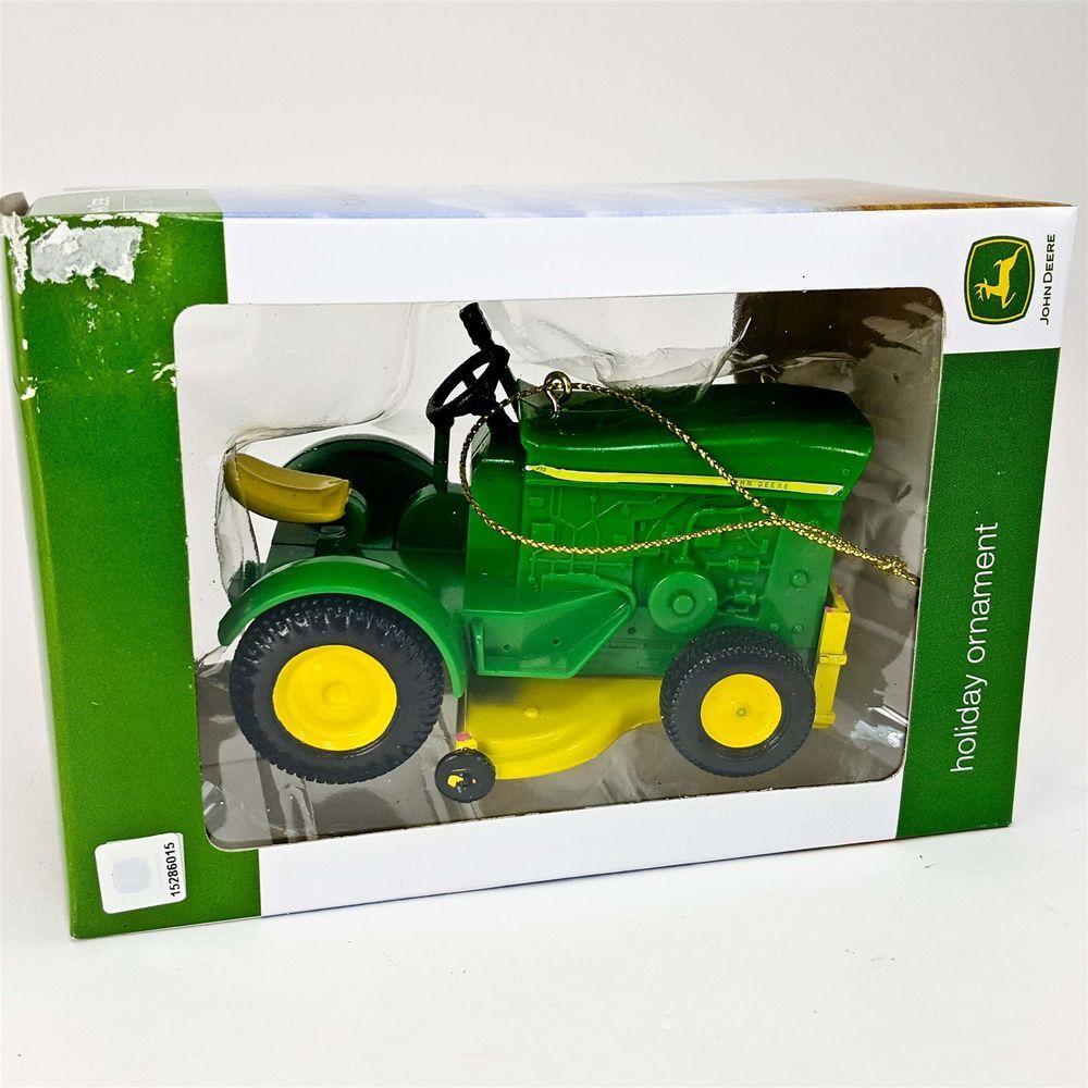 John Deere Tractor Lawn Mower Model 110 Kurt Adler 3.5\