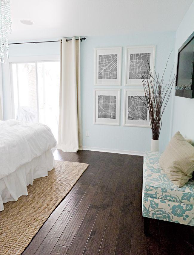 House 2 Wood Floor Design Bedroom Wood Floor Dark Wood Floors