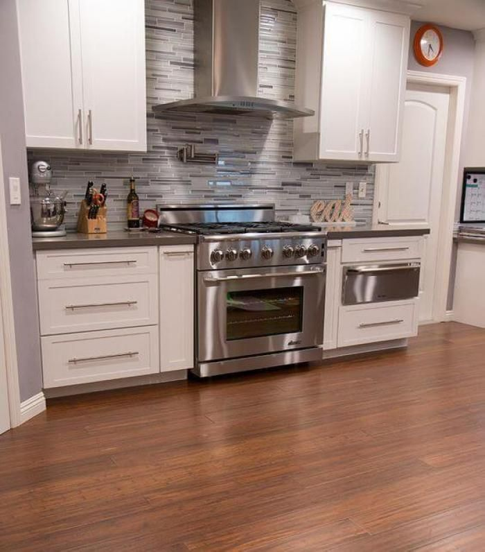 attractive appearance of bamboo floor ideas in the all room in home rustic flooring kitchen on kitchen flooring ideas id=65550