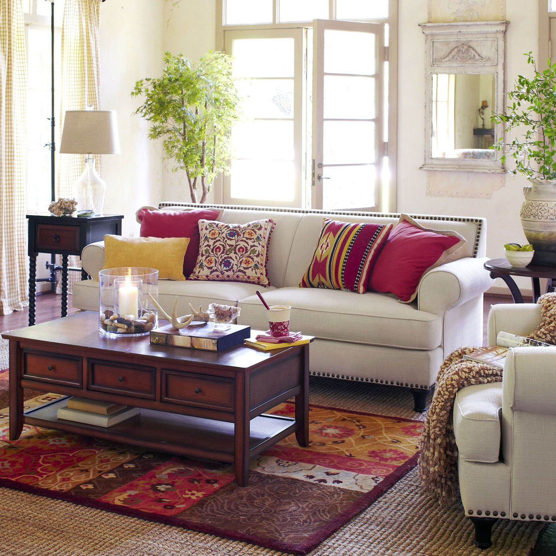Carmen Sofa Ecru Pier 1 Imports For The Home Ektorp Sofa