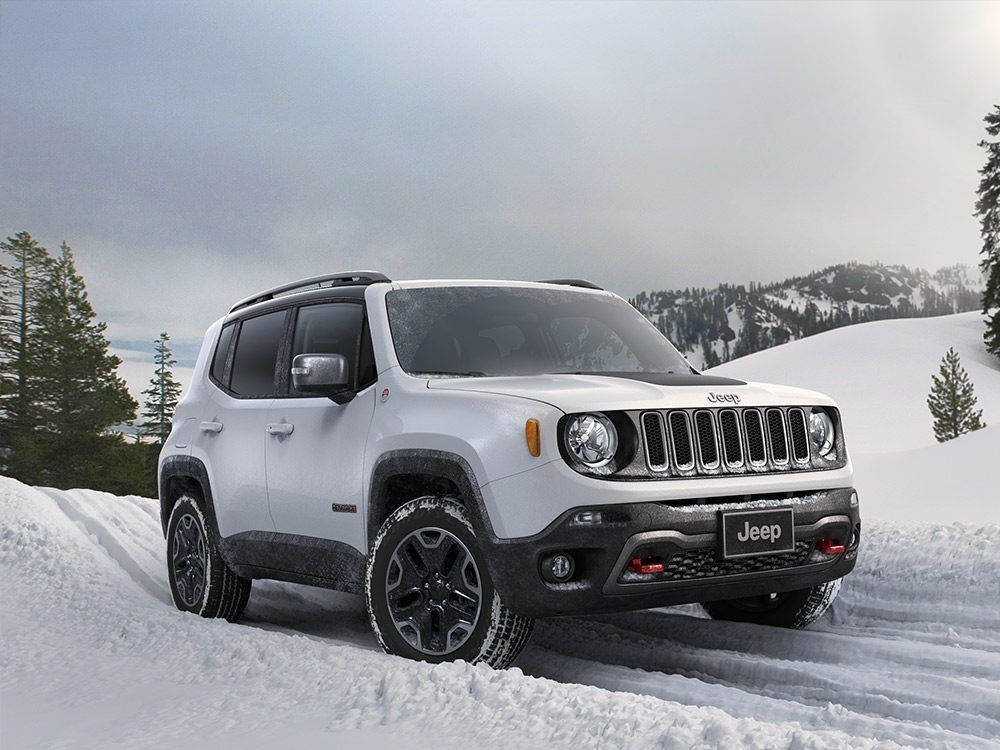 2018 Jeep Renegade Compact SUV with Modern Features