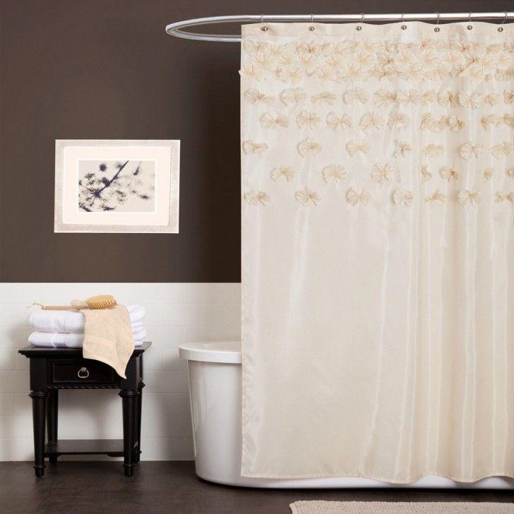 Shower Curtain Rod Hardware Accessories Spectacular Height Bathroom Decor Wooden Floor