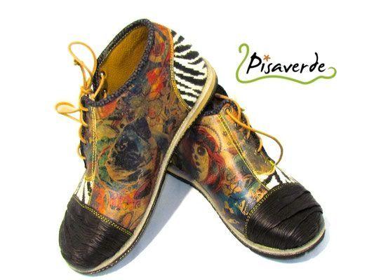 BIPI - PISAVERDE,diseño y producción de calzado ARTESANO