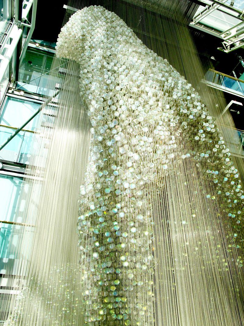 Bleigiessen Glass Sculpture Thomas Heatherwick Artist This 30m That S 8 Stories To Us Readers High Pie Glass Sculpture Installation Art 3d Art Sculpture