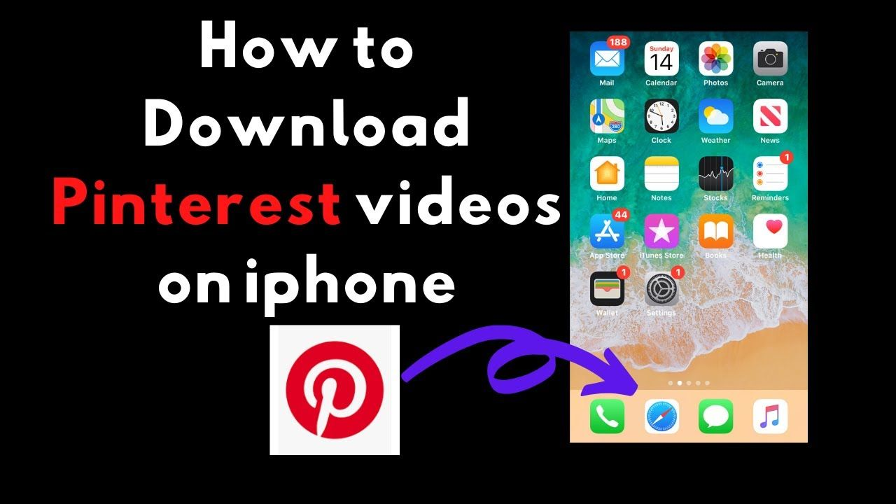 How To Download Pinterest Videos On Iphone Pinterest Video Iphone Download