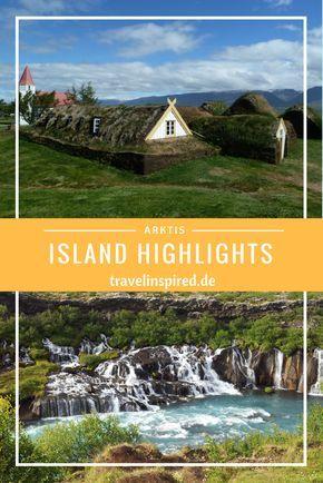 Unsere Island Highlights entlang der Ringstrasse => Atemberaubende Landschaft, Wasserfälle, Eislagune, Whale Watching und idyllische alte Häuschen