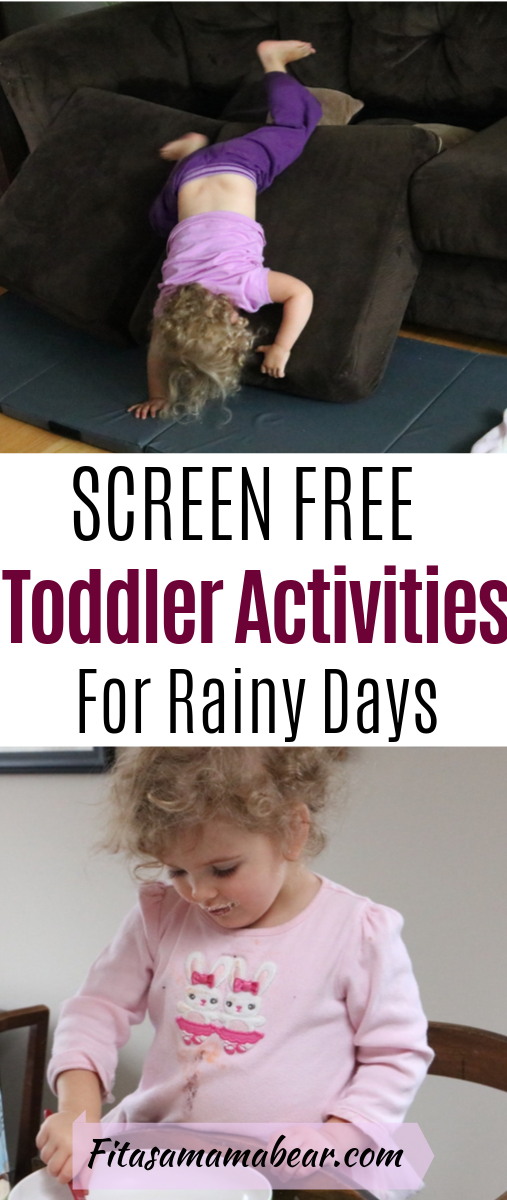 Rainy Day Activities With Toddlers #techtoys