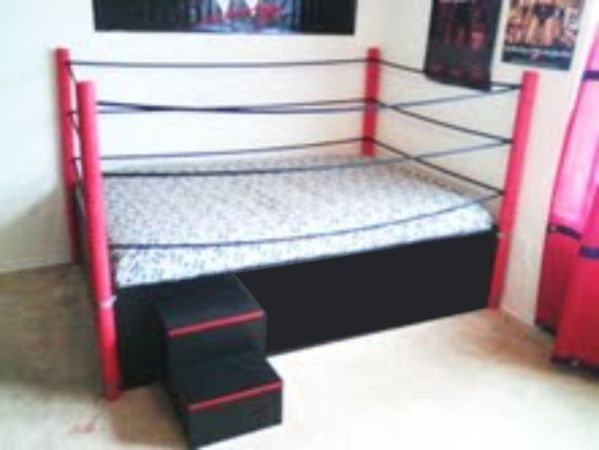 wrestling ring bed | cool rooms | pinterest | room and bedrooms