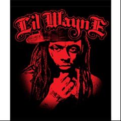 Lil Wayne Spcfb Llw Red Micro Fiber Throw Blanket Gag Gifts Funny Lil Wayne Fabric Poster