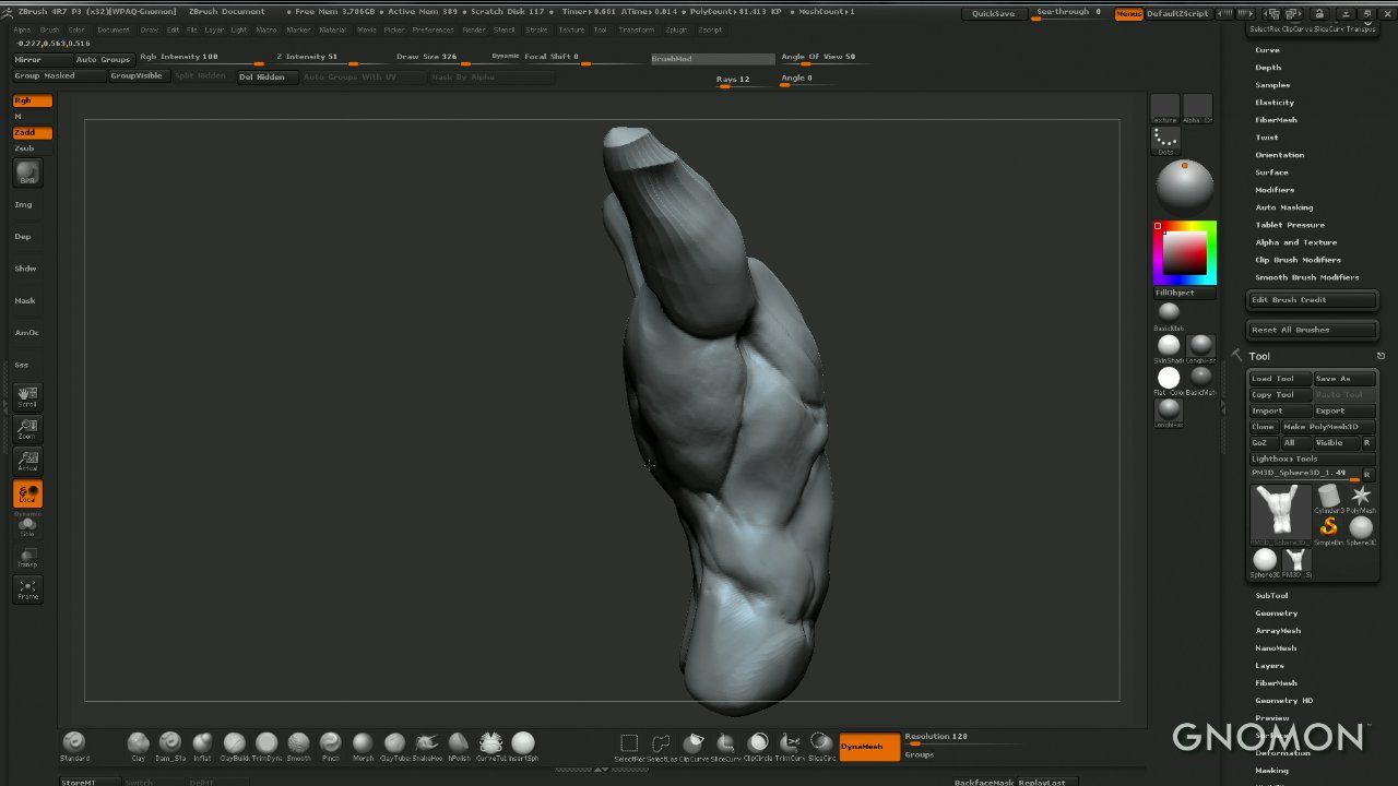 Sculpting Human Anatomy — From Clay to ZBrush on Livestream | 3D ...
