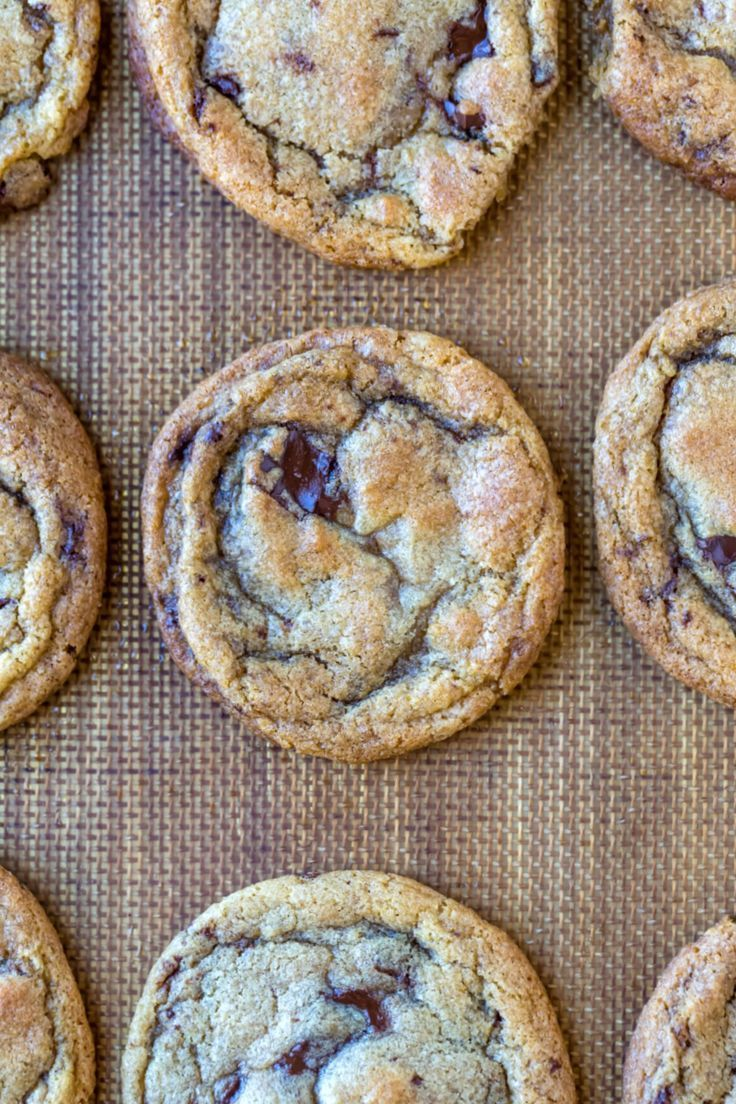 Chewy Chocolate Chip Cookie Recipe - I Heart Eating