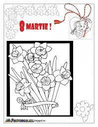 Imagini Pentru Felicitari 8 Martie Colorat Preschool