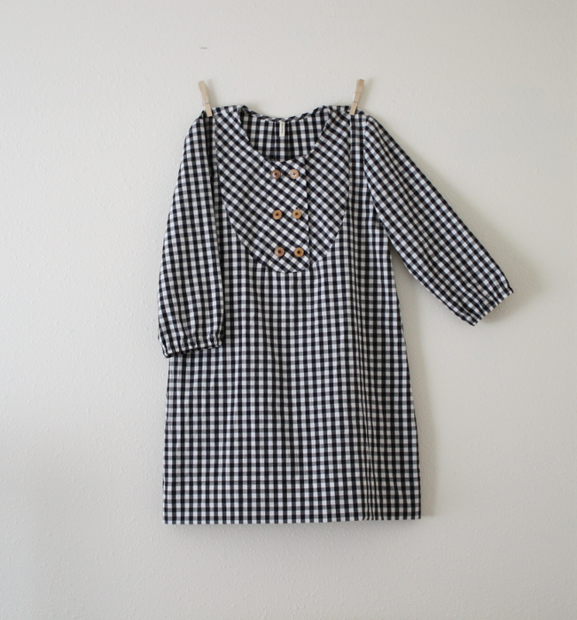 Gingham Cabin dress. Hetterson By Hannah Elise.