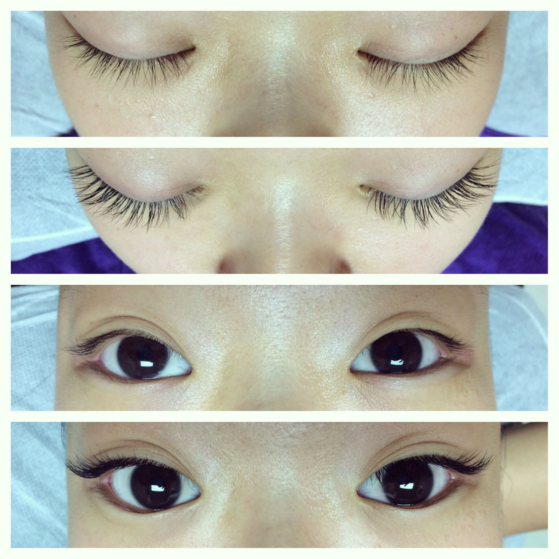 natural eyelashes for asian eyes thin, straight natural ...