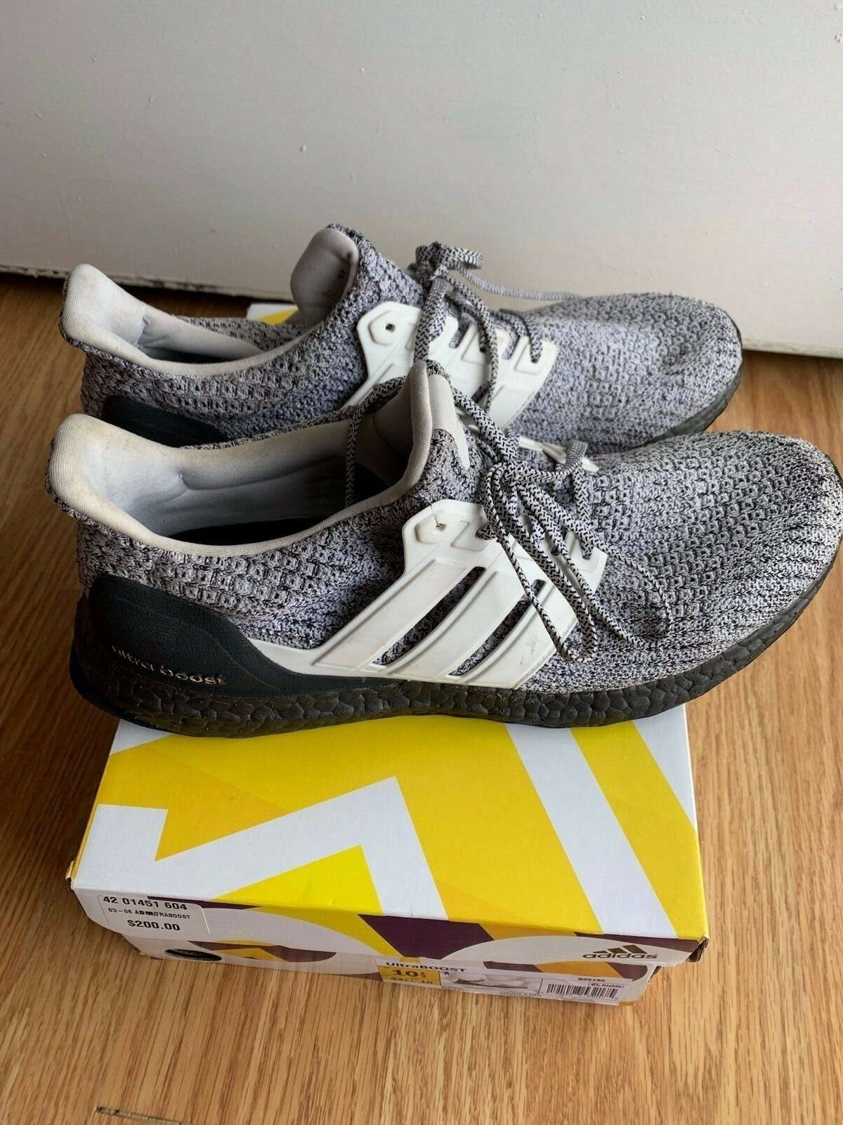 dec7836e730ae Adidas Ultra BOOST 4.0 Oreo BB6180 Cookies and Cream LTD Men s Size 10.5 US