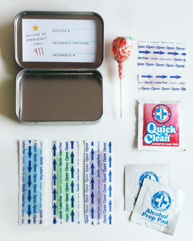 Superhero Repair Kit Printable Rockin Boys Club Mini First Aid Kit Diy First Aid Kit Babysitting Kit