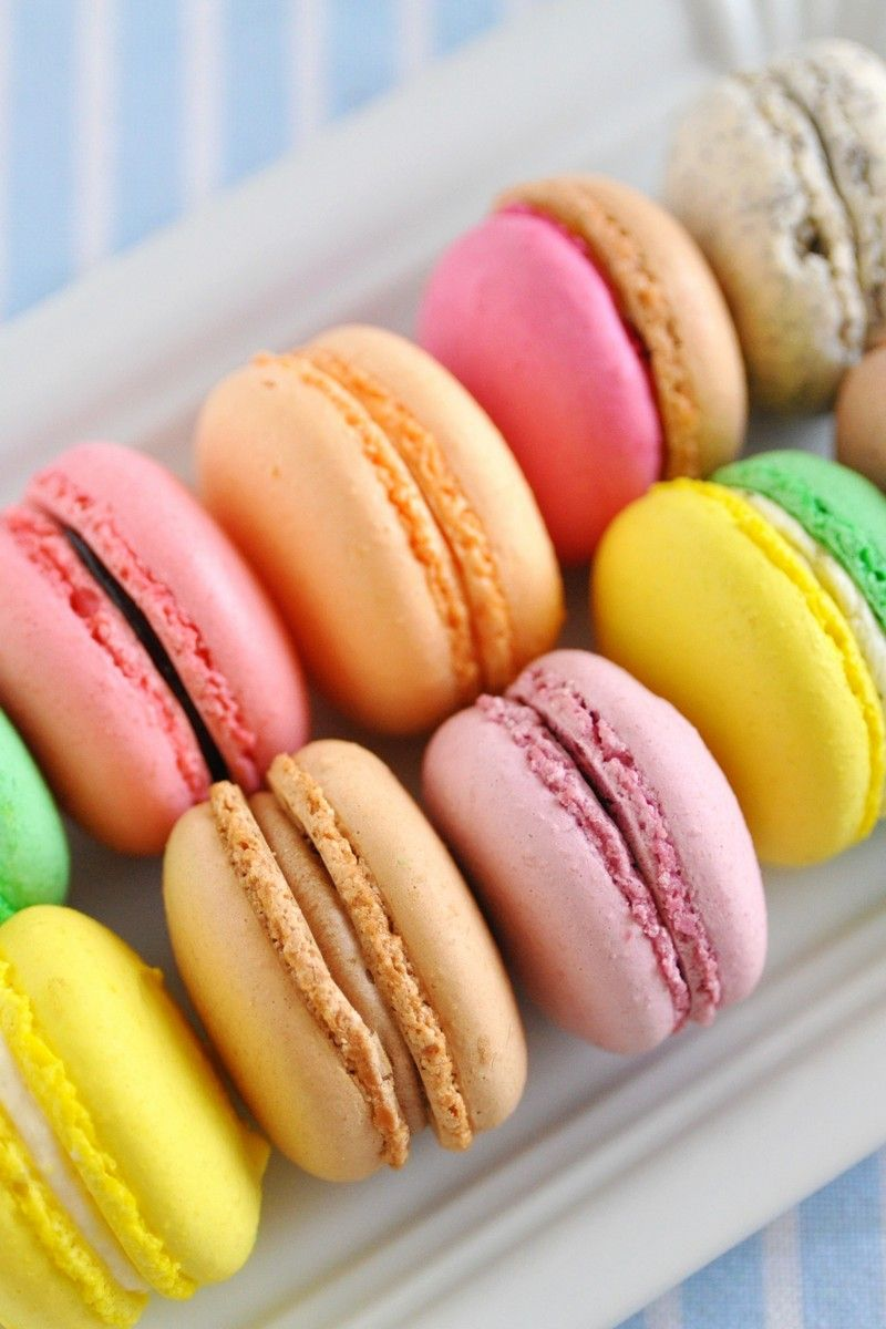 are all macarons gluten free