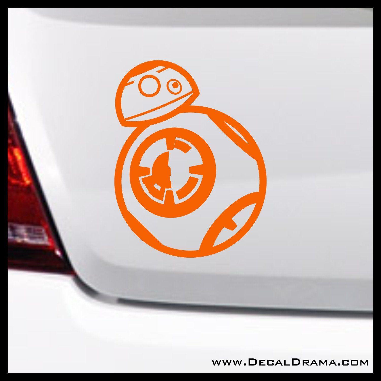 Star Wars Master Obi-Wan Kenobi Cartoon Chibi VINYL DECAL STICKER Jedi  Force