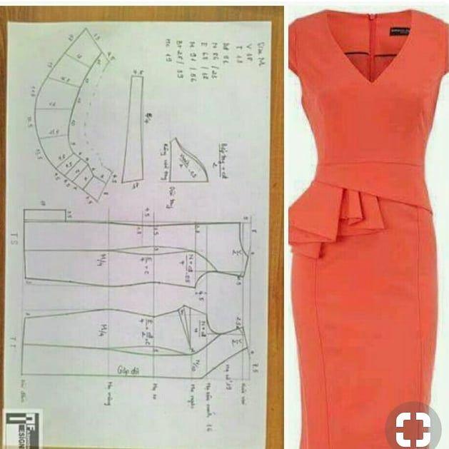 "Photo of modelli su Instagram: ""#fashiondesigner #fashionistas #fashionnovadress #fashionillustrationoftheday #fashionbloggers #tailor #tailored # patternsewing …"""
