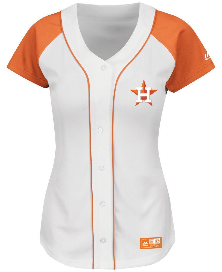 Majestic Women s Houston Astros Fashion Replica Jersey - Sports Fan Shop By  Lids - Men - Macy s a27c78dcf