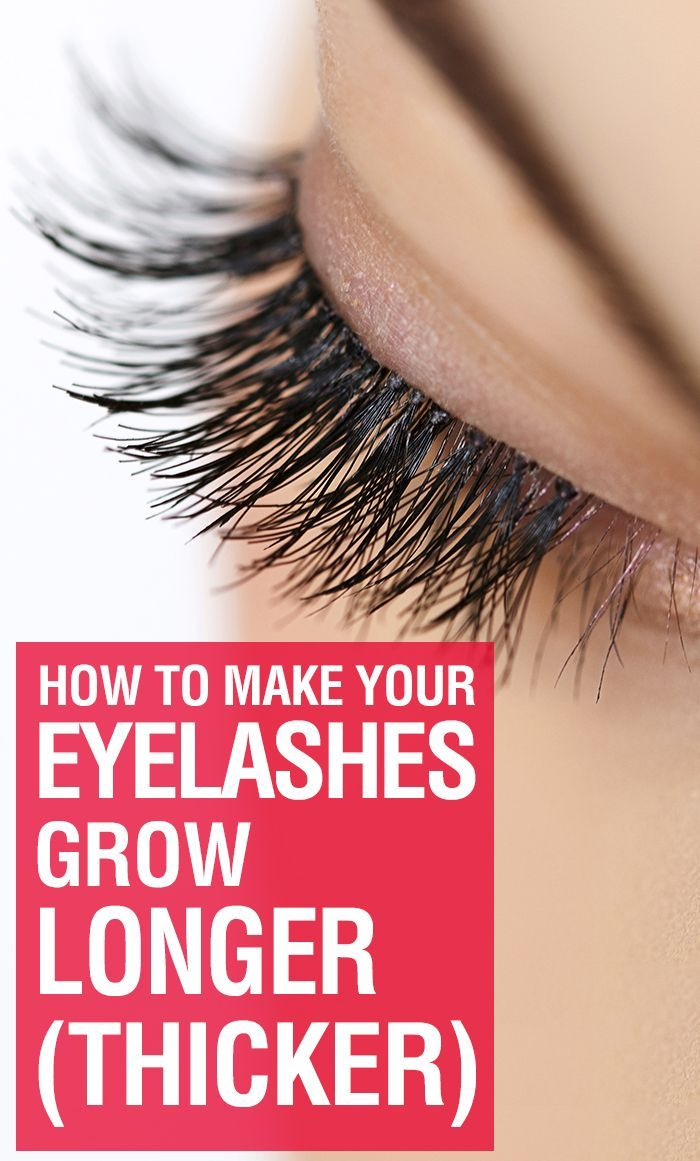 How To Make Your Eyelashes Grow Longerthicker Eye Makeup