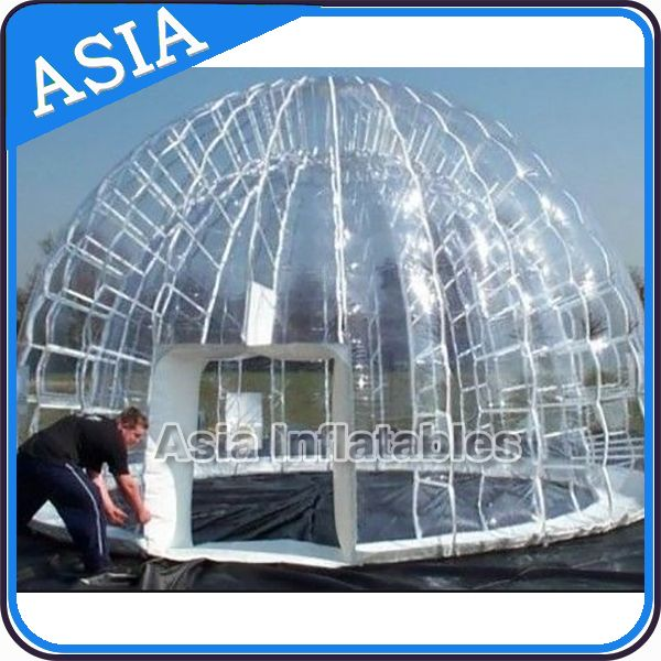 6*4m Outdoor Inflatable Clear Bubble Tent Family C&ing Backyard Tent | C&ing Tips and Tricks | Pinterest | Bubble tent and Tents & 6*4m Outdoor Inflatable Clear Bubble Tent Family Camping Backyard ...