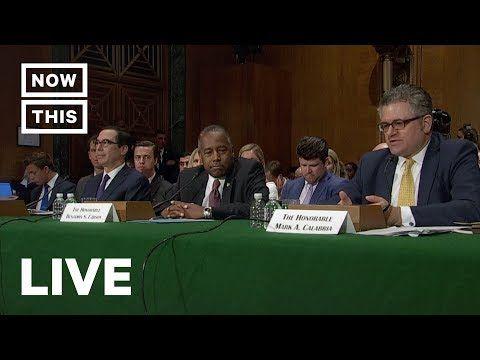 Senate Questions Steve Mnuchin Ben Carson In Housing Hearing