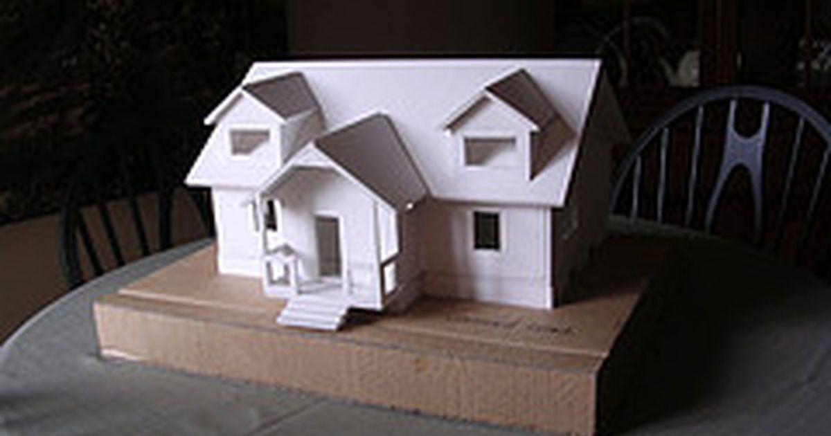 How To Build Foam Board Models Ehow Uk Model Trains Foam Board Model Train Layouts