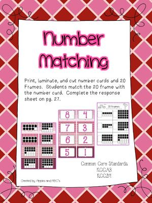 Apples and ABC\'s: Numbers 1-20 | Matikka | Pinterest | Numbers ...