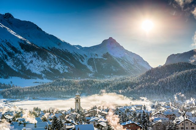 Skiing in Switzerland - Therme Vals
