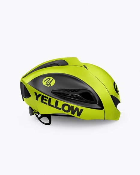 Download Cycling Helmet Mockup Side View In Apparel Mockups On Yellow Images Object Mockups Mockup Free Psd Mockup Free Download Mockup Psd