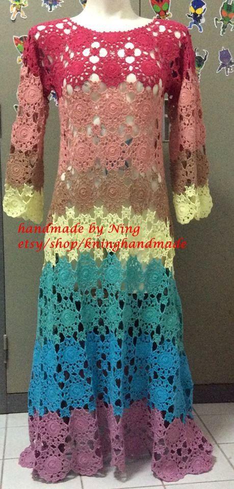 05d6a73d1 Summer Crochet Dress/Crochet Fashion dress,Spring ,Summer , Women ...