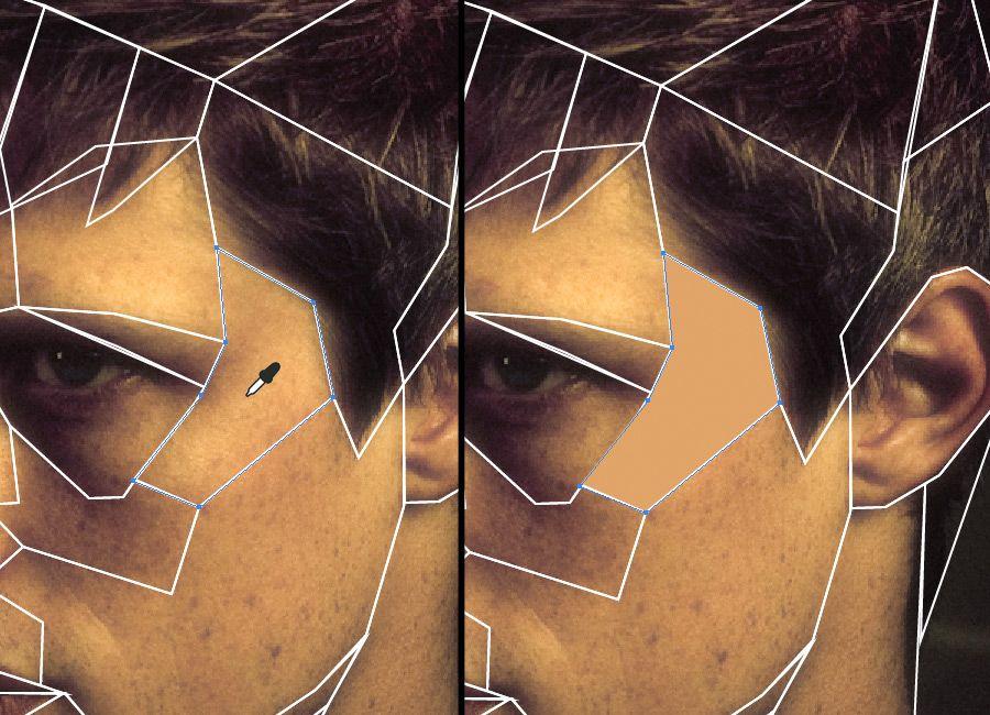 Hacer un retrato geometrizado