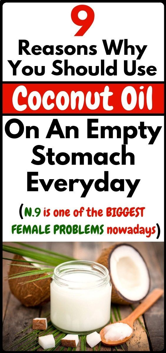 #everyday #reasons #coconut #stomach #fitness #health #secret #empty #use #oil #and #to #on #an9 rea...