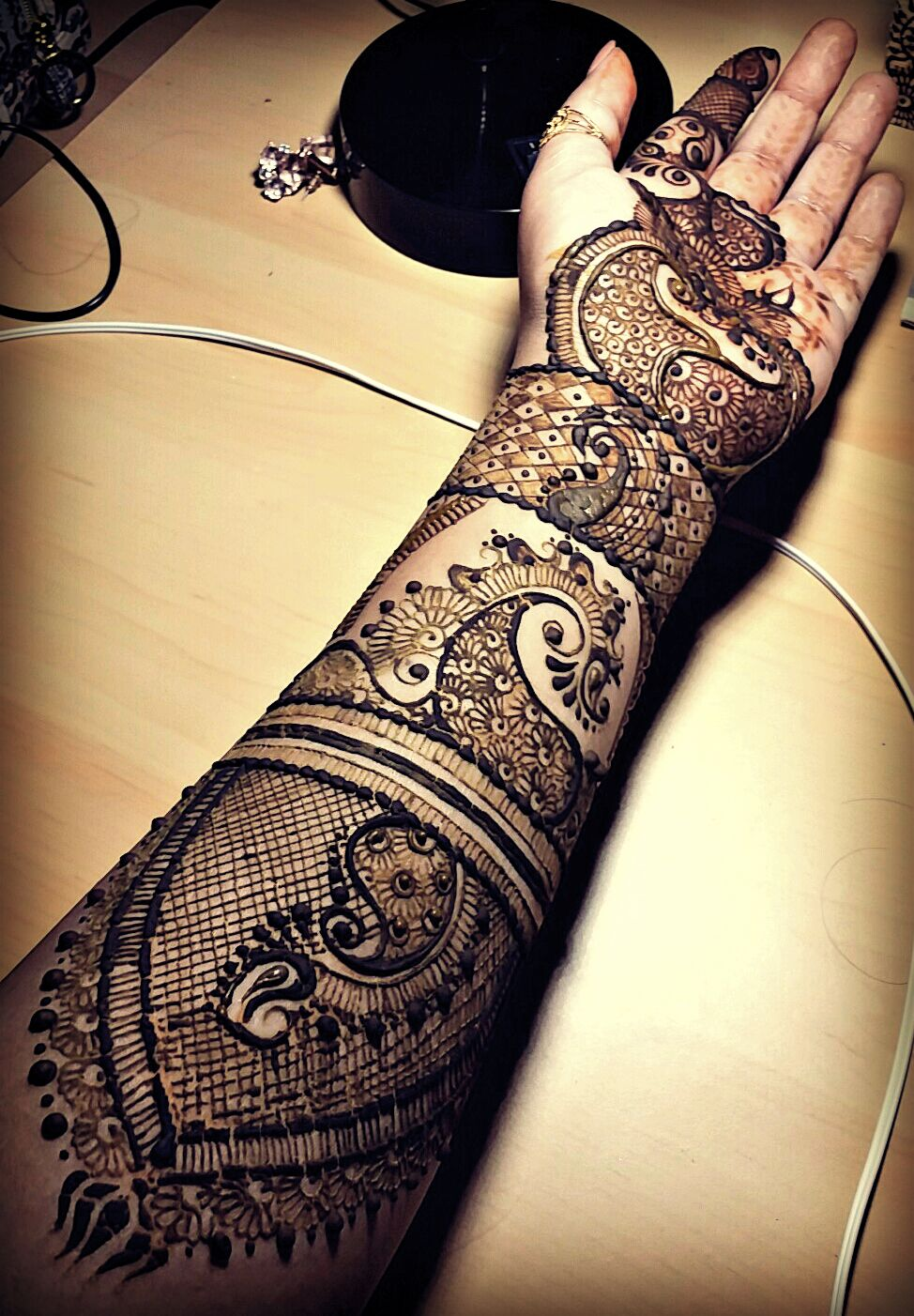 Bridal Style Intricate Henna Offering Services In Dallas Tx Now