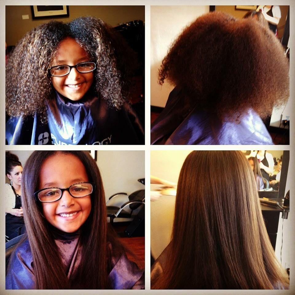 Brazilian blowout before & After Brazilian blowout, Hair