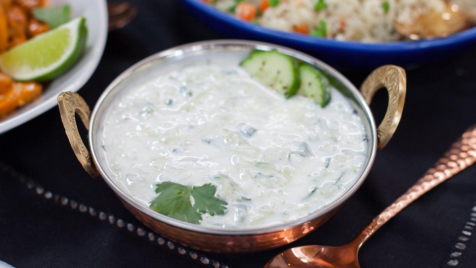 Cucumber Raita Recipe Food Recipes Indian Food Recipes Yogurt Recipes