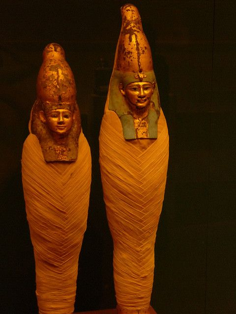 Egyptian Mummies by Helvis1212, via Flickr