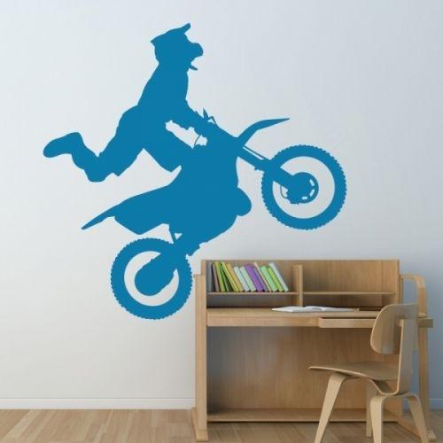 www.stickurz.com, Motocross, Motorcycle, Bike, Freestyle, Kids, Teenager, Sport, Sticker, Wall Decal, Design Decoration, wall tattoo