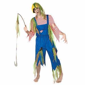 I'm learning all about BuySeasons Zombie Fisherman Adult Costume at @Influenster!