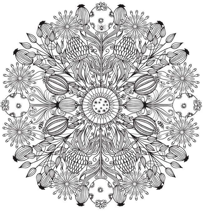 Pin von Lena E auf Colouring pages | Pinterest | Mandala vorlagen ...