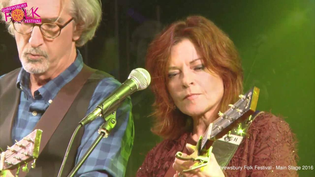 Rosanne Cash with John Leventhal at Shrewsbury Folk