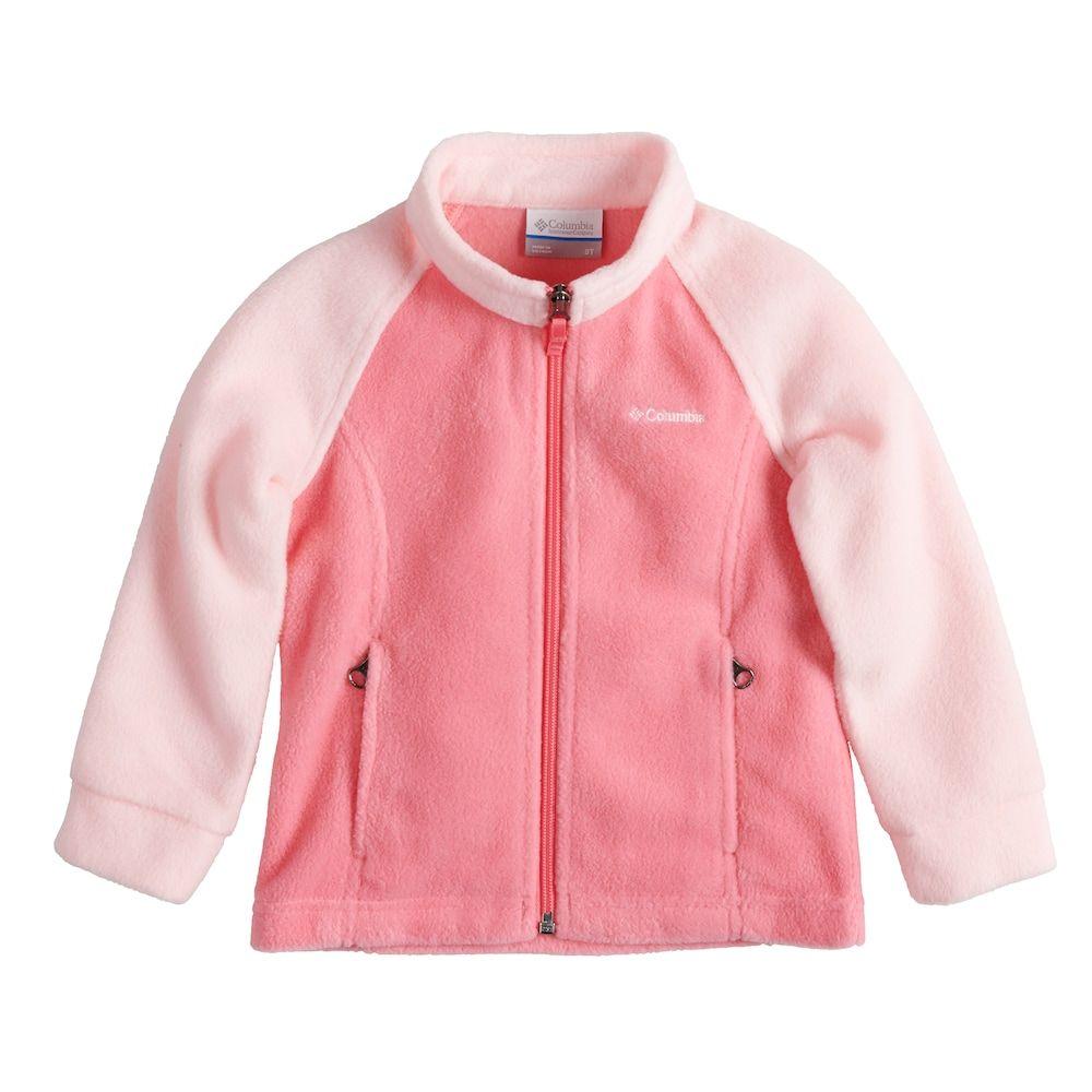 fae0503fa53f Columbia Toddler Girl Lightweight Three Lakes Fleece Jacket in 2018 ...