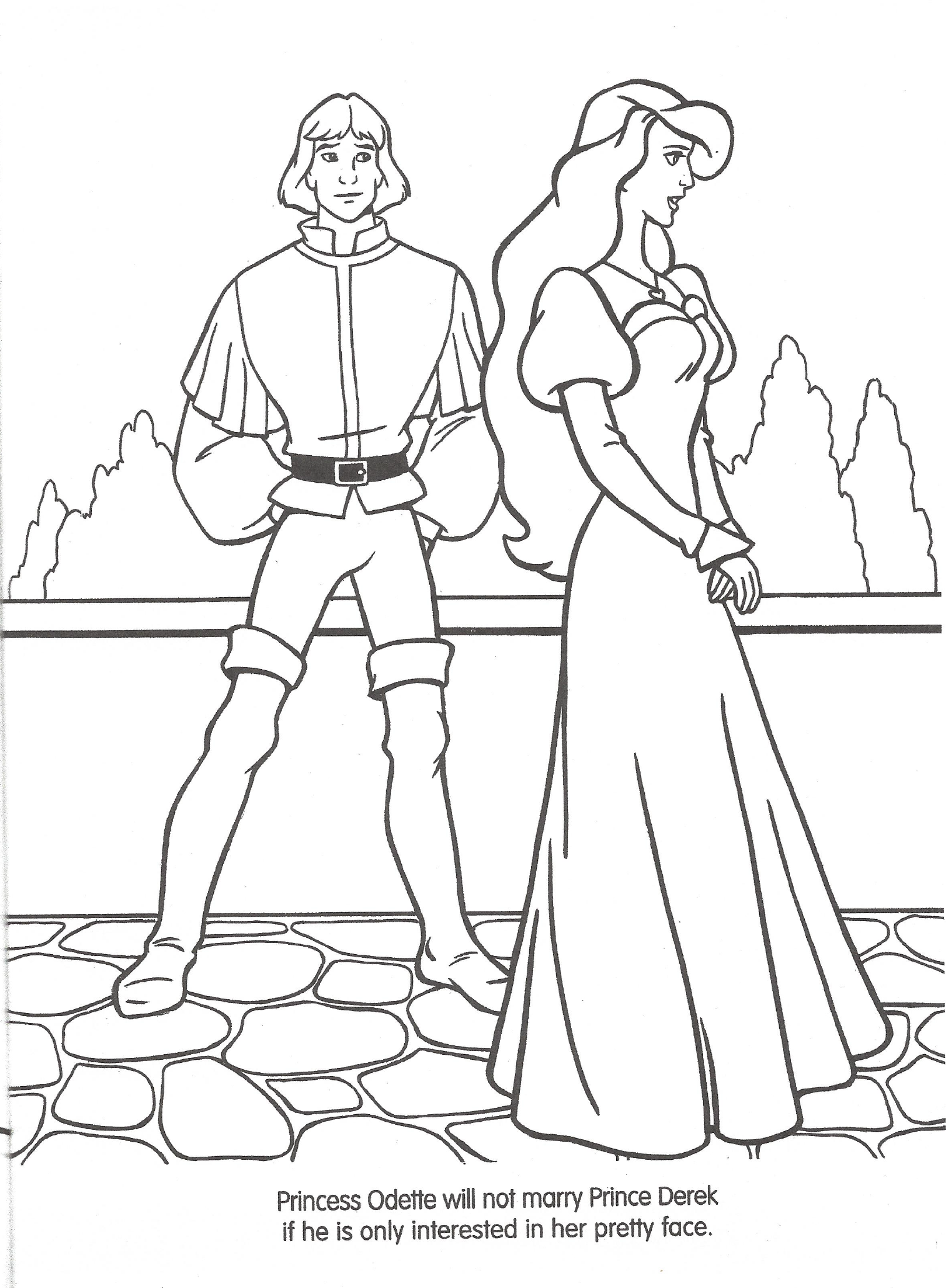 Swan Princess Official Coloring Page 8 Png Princess Coloring Pages Princess Coloring Swan Princess