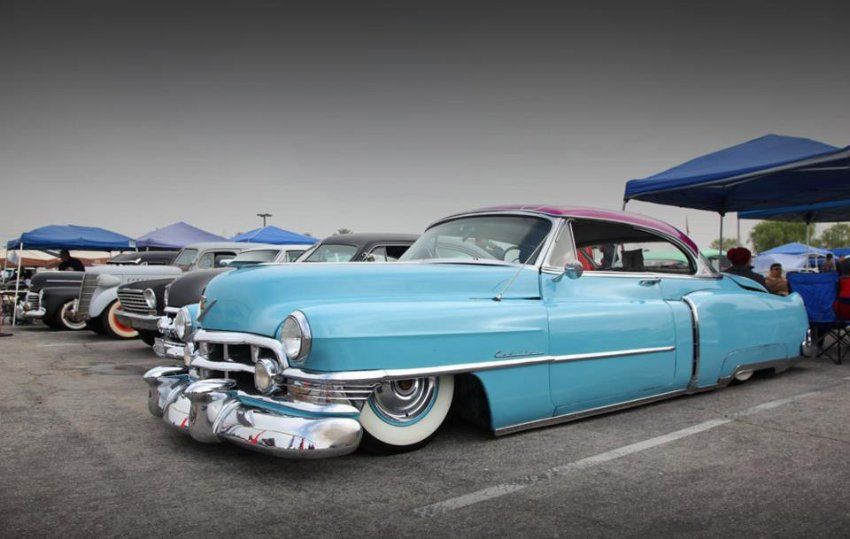 Lowrider with an old Caddy. | Back in the day | Pinterest | Lowrider ...