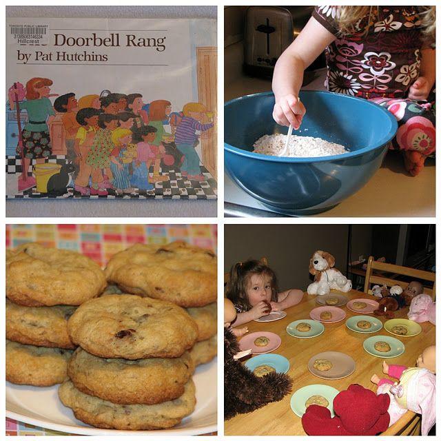 The Doorbell Rang Dividing Cookies Activity