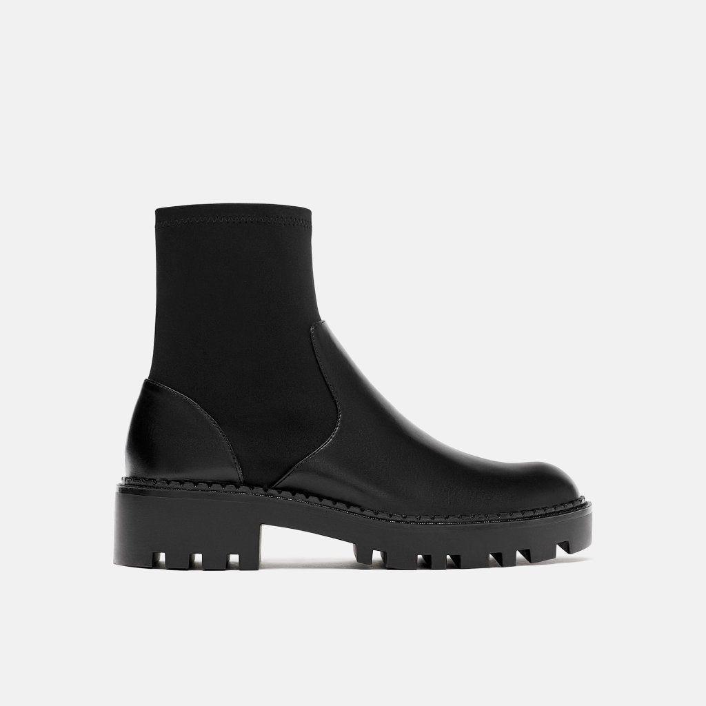 Zara Shoes | Zara Elasticated Flat Ankle Boots Us 6.5 (Guc) | Color: Black | Size: 6.5 -  Zara Shoes | Zara Elasticated Flat Ankle Boots Us 6.5 (Guc) | Color: Black | Size: 6.5  - #Ankle #anklebootsflatblack #black #Boots #color #Elasticated #Flat #GUC #Shoes #size #Zara