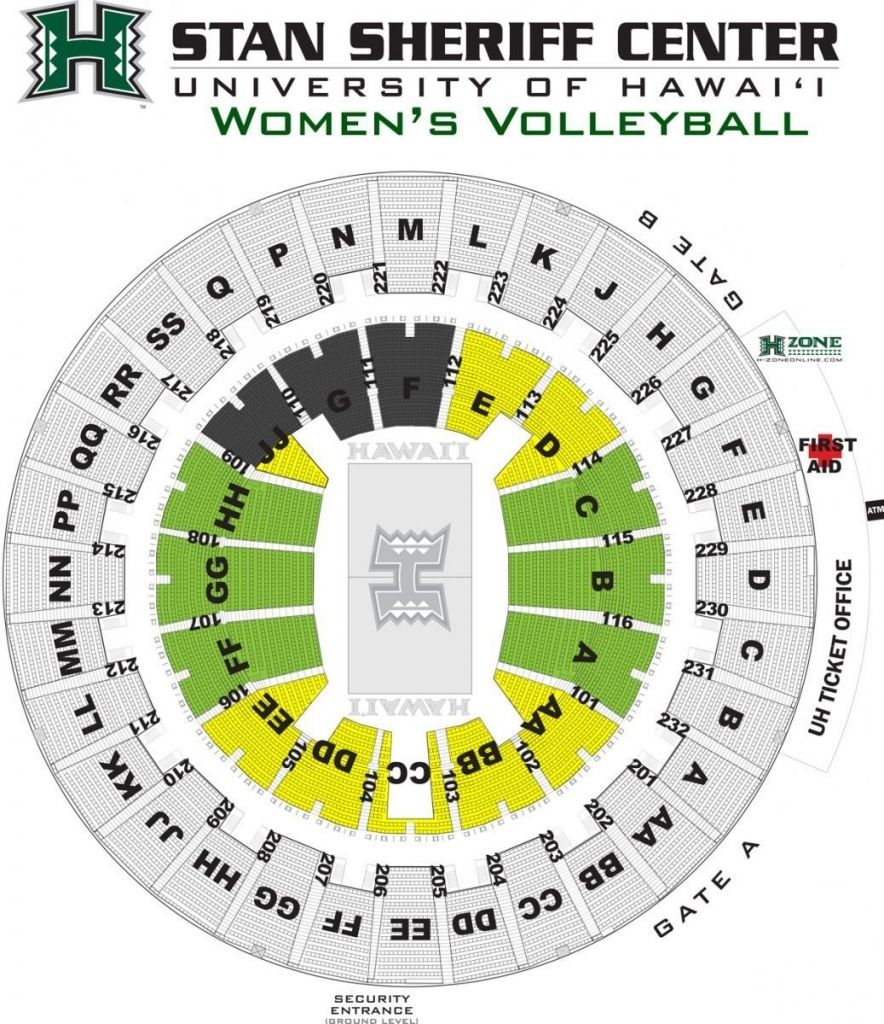 Stan Sheriff Center Seating Map with regard to The Most ...