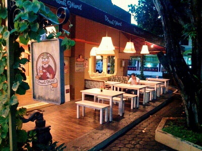 Frankwurst german restaurant at jogja indonesia German